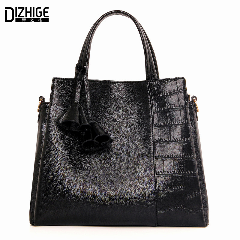 Big Capacity Luxury Handbags Women Bags Designer Three Zone Tote Bag Black Leather Women Crossbody Bags Famous Brand Sac A Main 2017 famous brand large soft leather bag women handbags ladies crossbody bags female big tote green top handle bags sac a main