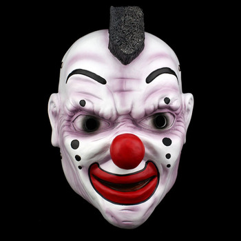 Halloween clown Slipknot Shawn Crahan Movie Theme Cosplay Masquerade Ghoul Scary Ghost Skull Party Home Decoration Resin Mask