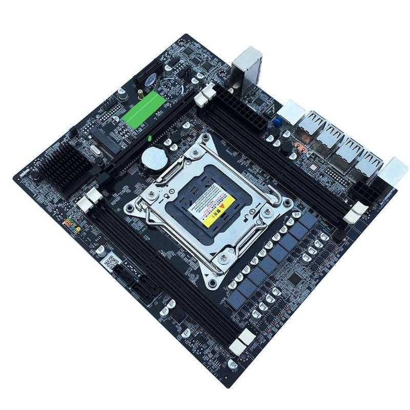 X79 E5 デスクトップコンピュータ Lga 2011Pin 4 チャンネル Recc ゲーミングマザーボード Cpu プラットフォームのサポート I7 Xeon インテル H61 p6
