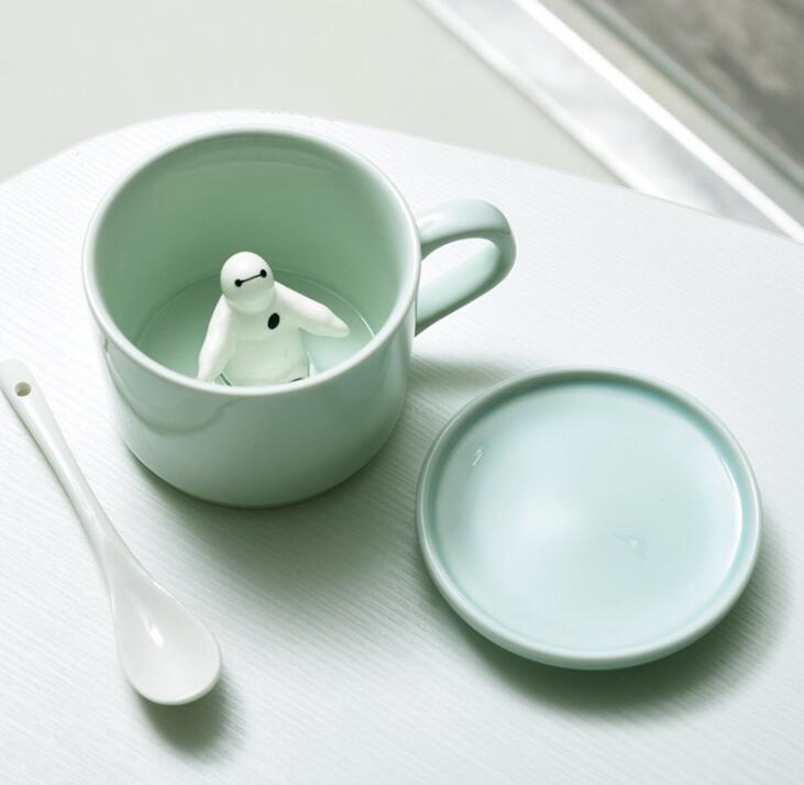 Creative Mug Small Ceramic 3D