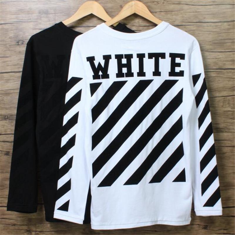 Popular Black White Striped Tshirt Men-Buy Cheap Black White ...