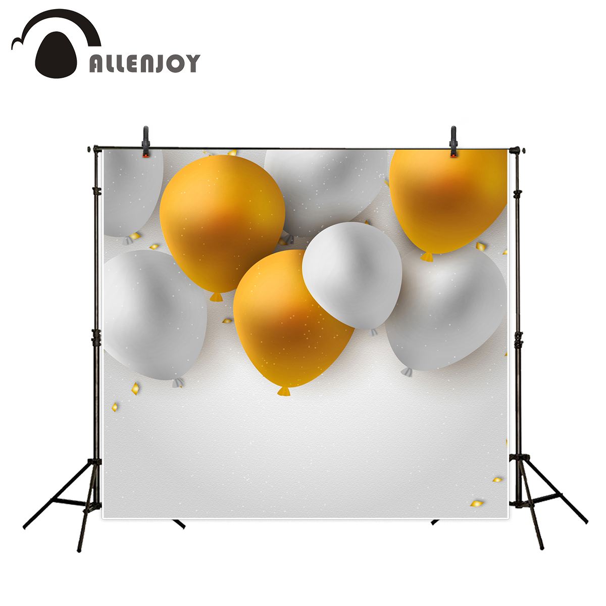 Allenjoy photography background glitter balloon party celebrate fantasy props for newborn photobooth backdrop wireless sound system waiter pager to the hospital restaurant wireless watch calling service call 433mhz