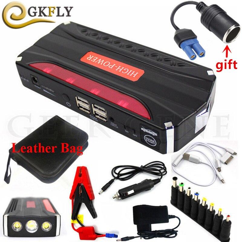 Multi-Fonction 600A Car Jump Starter Banque D'alimentation Portable 12 V Dispositif de Démarrage Mini Démarreur De Voiture Pour Batterie De Voiture Booster Chargeur CE