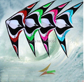Envío de la alta quality1.8m Torbellino de doble línea de energía del truco albatross kite surf con mango línea de weifang kite juguetes al aire libre