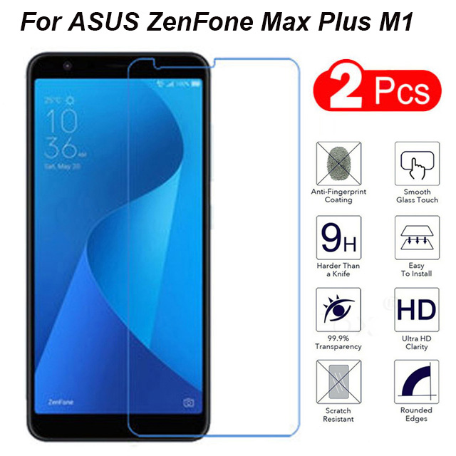 2pcs for tempered glass asus zenfone max plus m1 screen protector asus zenfone max plus m1. Black Bedroom Furniture Sets. Home Design Ideas