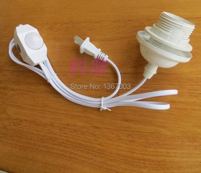 Hohe Qualität Weiß Schwarz 2 Farbe E27 lampenfassung drahtkappe DIY ...