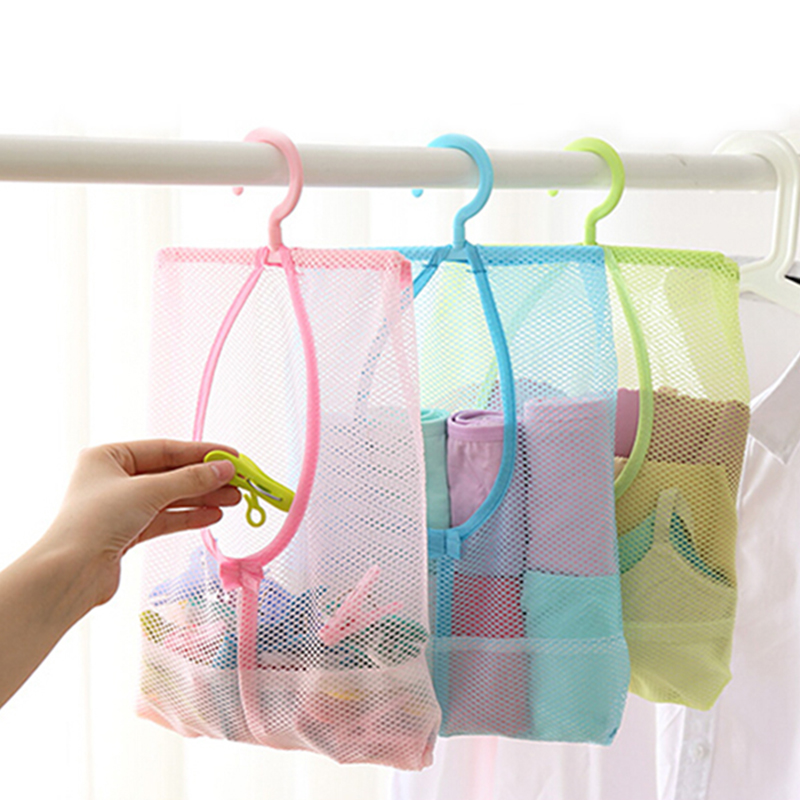 Lovely 3pcs Useful Multi-purpose Storage Hook U-shaped Wall-mounted 4 Hooks Clothes Glass Mug Shelf Hanger Wardrobe Holder Large Assortment mixed Color