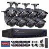ANNKE 16CH AHD 1080N DVR With 8 Pcs 720P IR CUT CCTV Security Camera System