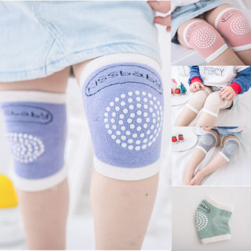 Kids Crawling Knee Pad Soft Anti-slip Elbow Cushion Infant Toddler Baby Casual  Safety Knee Sleeve