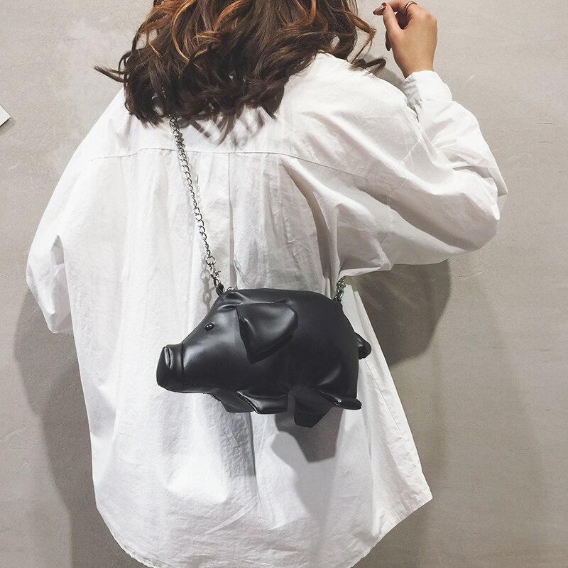 Flap bianco Di grigio Nero Il Borsa Signore Delle Maiale Cuoio Stile rosso Elaborazione Crossbody Bolsa Della Mini Spalla Del Modo Bol Sacchetto Dell'unità Catena Femminile Carino Messaggero qFSCHn