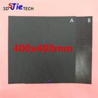 400x400mm nova impressão magnética cama fita quadrado impressão adesivo placa de construção flexplate diy 3d peças de impressora|Peças e acessórios em 3D| |  -