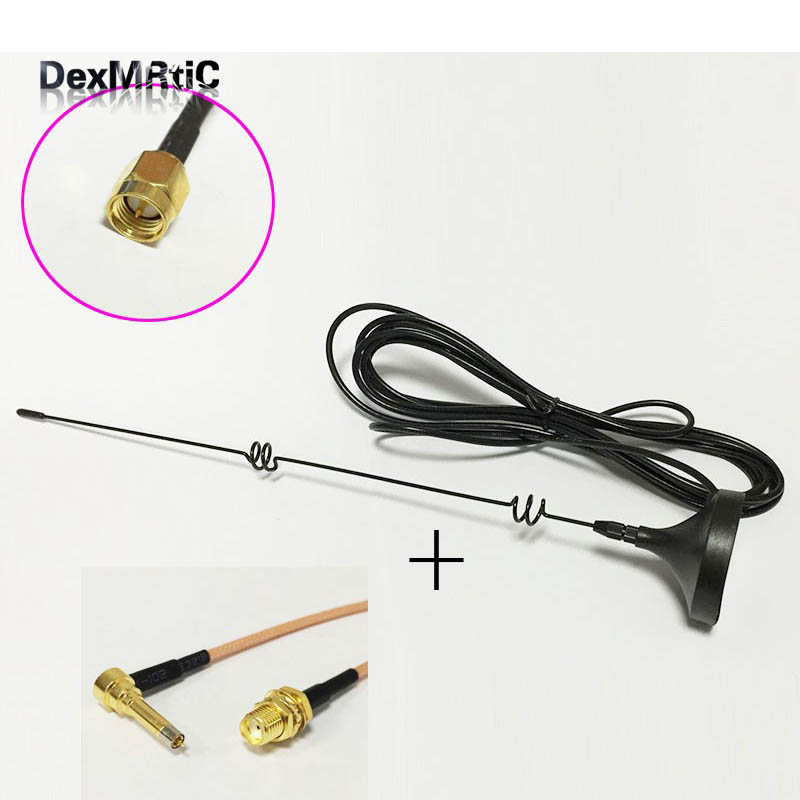4G 3G GSM antenna 6dbi high gain magnetic base with 3meters cable SMA male +SMA Female Connector to MS156 Male RG316 Cable 15CM jx rf coaxial cable sma male to sma female connector for rg316 pigtail cable 5cm 5m for 3g 4g antenna extension cord