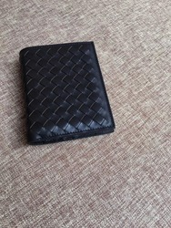 2019 High-quality  Cowhide wallet Genuine leather Hand knit  Cover up Male and female same style New pattern