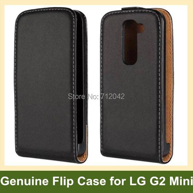 Funda abatible de cuero genuino de diseño de moda para LG G2 Mini D620 con cierre magnético envío gratis