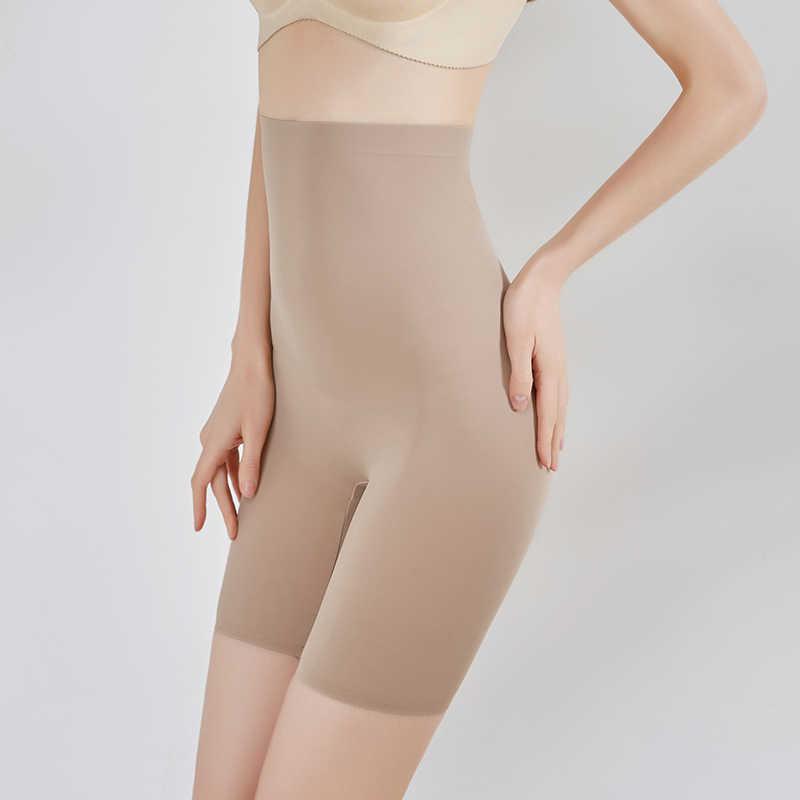 Цветные Трусики для коррекции фигуры с высокой талией, супер эластичные Шейперы для тела, женское нижнее белье