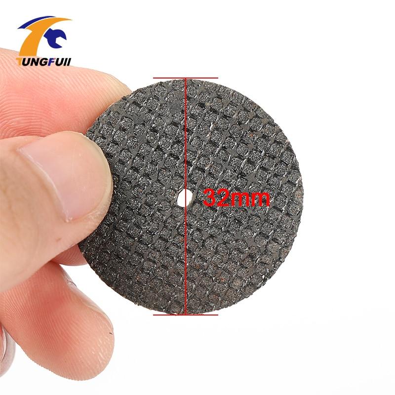 Tungfull 100 pezzi 36mm kit disco di taglio ruota in resina da taglio - Accessori per elettroutensili - Fotografia 2
