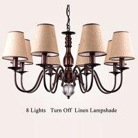 chandelierstyle Vintage Lamp Loft Chandelier Lighting Modern Crystal Pendant
