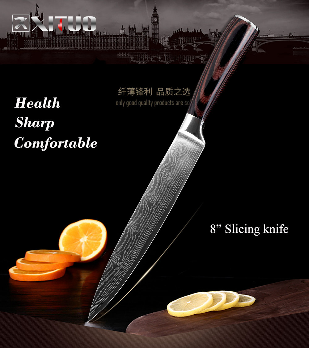 8 in Slicing knife
