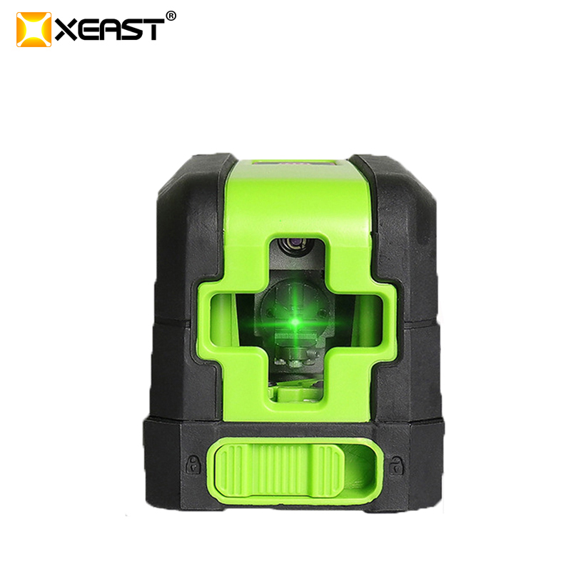 Hot XEAST MINI XE M02 2 lines Red Laser Level Self Leveling Cross Laser Line portable