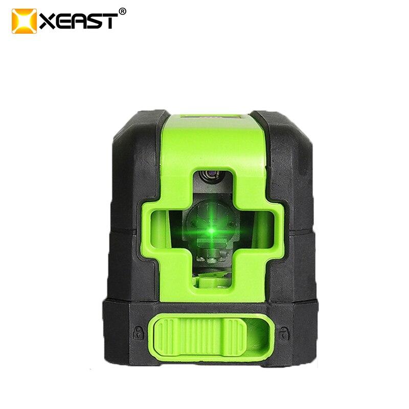 Heißer Xeast Mini Xe-m02 2 Linien Rot Laser Ebene Selbst Nivellierung Kreuz Laser Linie Tragbare Roten Laser Ebene Kostenloser Versand üBerlegene In QualitäT