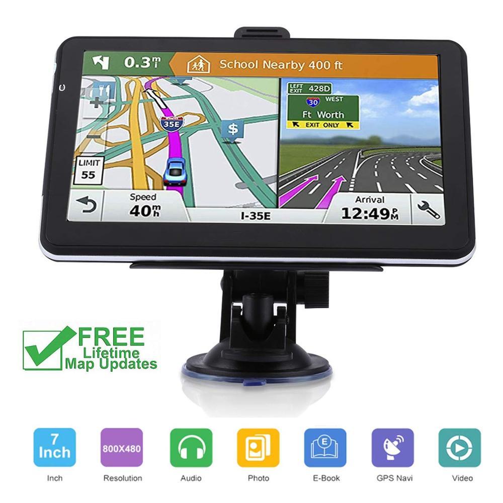 7 pouces HD voiture GPS navigateur Navitel FM256MB navigation par satellite camion GPS navigateur voiture accessoires 2019 dernière carte