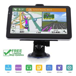 Truck GPS navigator Navitel 7 inch HD LCD screen FM256MB satellite voice will carry Czech navigation car accessories 2019 latest