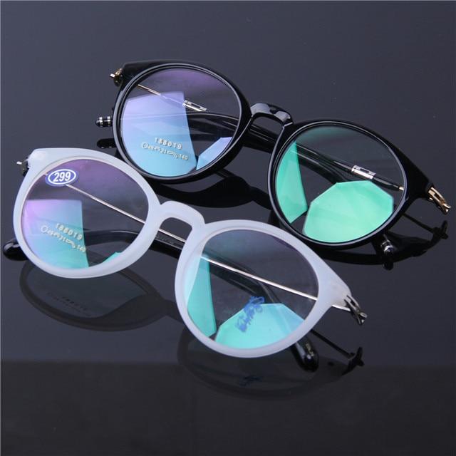 76f1c82bee8 Men  Women frame ultra clear TR90 glasses Round Retro Eyeglasses frame Myopia  glasses Prescription glasses 88019 Optical glasses