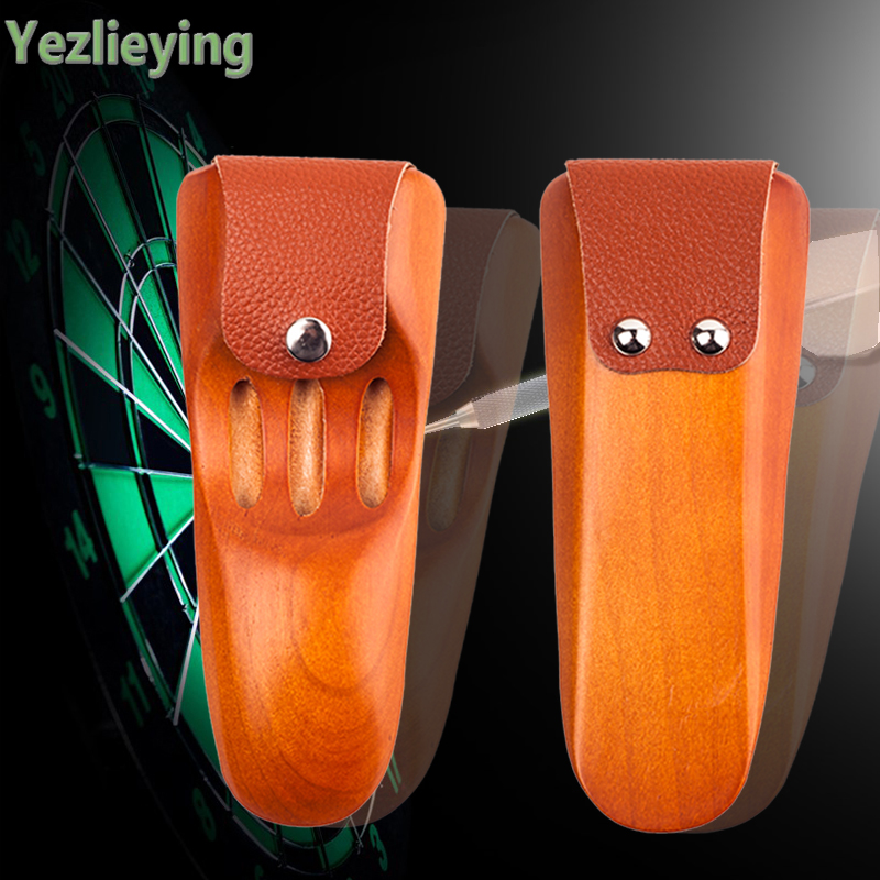 High-grade solid Wood Darts Box portable Darts bags do not have to disassemble the wing easy and convenient Darts Professional the new spm20g601h and disassemble