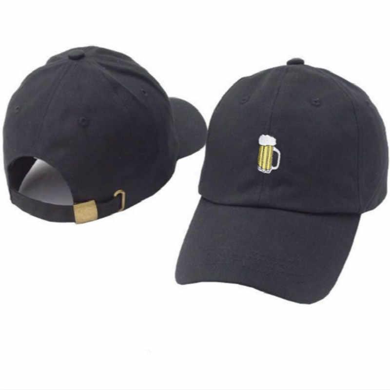 9de8d4dc3f4 ... beer dad hat for women adjustable cotton embroidery men baseball cap  hip hop beer cup male