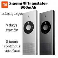 Xiaomi Moyu Ai Traduttore per Il Lavoro di Studio da Viaggio 14 Lingue Microsoft Traduzione Motore 7 Giorni in Standby 8H Tradurre Macchina