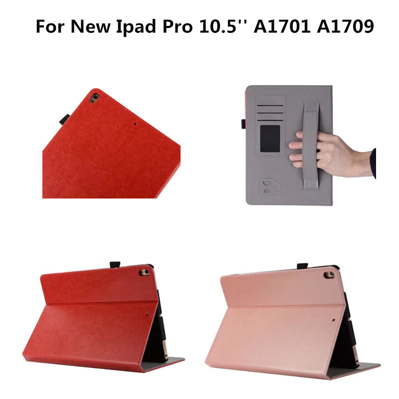 Shockproof Case For New iPad Pro 10.5 PU Leather Slim Auto Sleep/Wake cover For Apple iPad Pro 10. 5 inch 2017 A1701 A1709 shockproof case for ipad pro 10 5 military duty armor kickstand pc silicone stand cover case for apple ipad pro 10 5 inch tablet