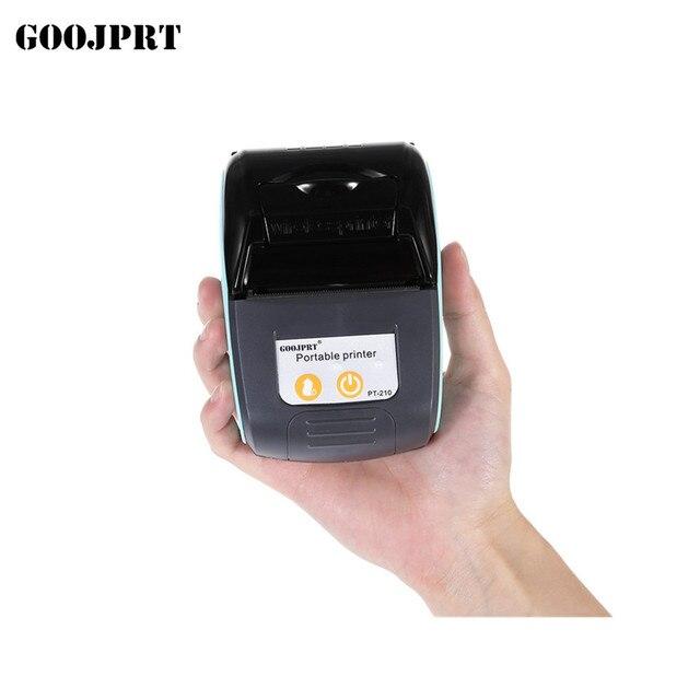 Impresora térmica Bluetooth portátil de 58mm impresora de recibos Bluetooth USB/puerto serie para impresora Windows Android POS