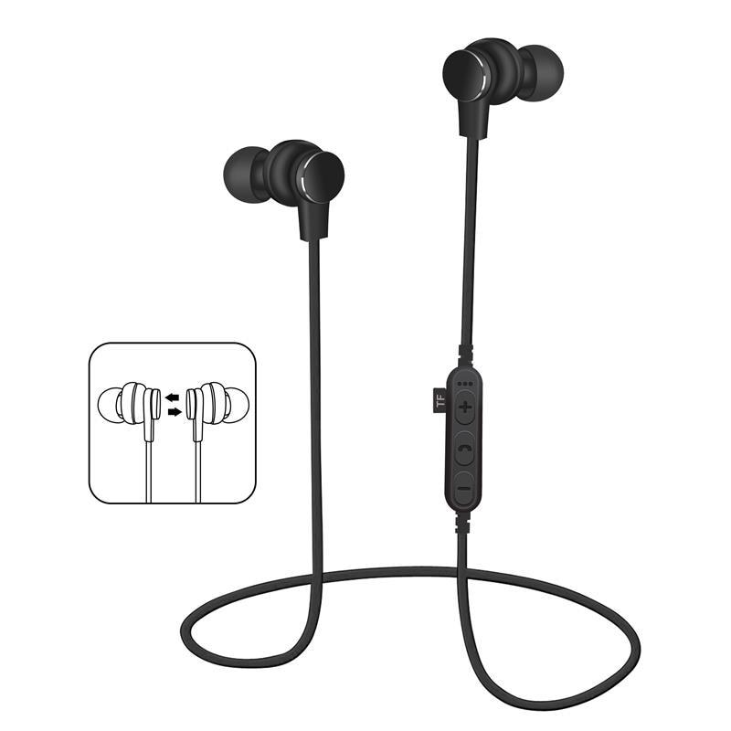 Smart Magnetic Wireless Bluetooth Earphones Headphones