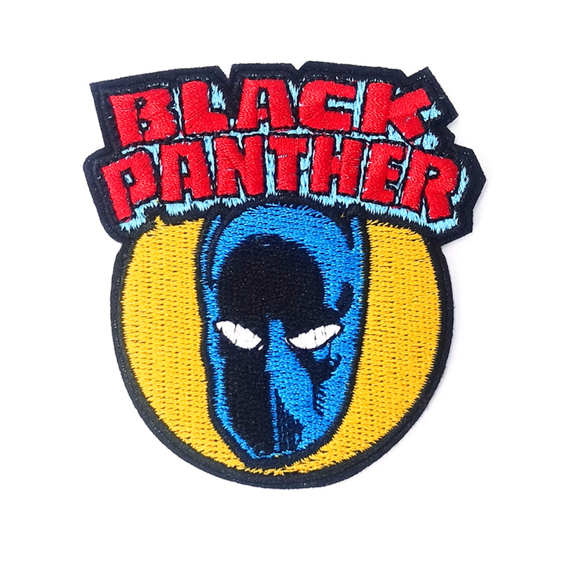 Marvel Comics The Black Panther of Wakanda Applique Iron On Patch