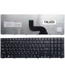 YALUZU Russian keyboard For Packard Bell EasyNote TE11 TE11HR TE11-BZ TE11-HC TE11HC TE11HC NE56R10u RU laptop MP-09G33SU-442W(China)