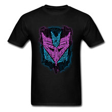 T-shirt Men T Shirt Iron Mask Tshirt Print Abstract Art Design Clothes Summer Cool Black Tops Tees Cotton Fabric Streetwear(China)
