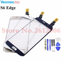 Original 5.1'' touch screen For Samsung Galaxy S6 Edge G9250 G925 G925F Touch Sensor Glass Panel Replacement
