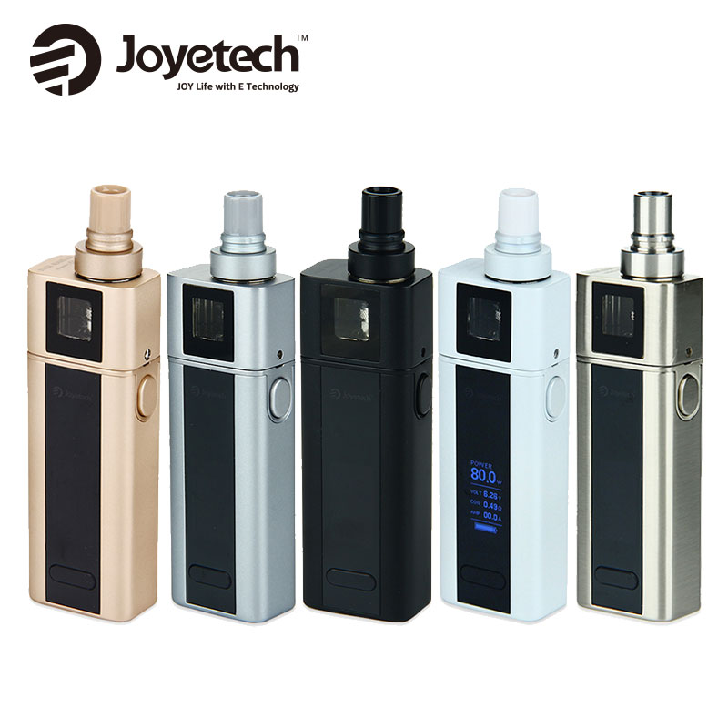 100% Original Joyetech cuboïde Mini Kit de démarrage avec cuboïde Mini contrôle de température Mod batterie 2400 mAh et cuboïde Mini atomiseur 5.0 ml