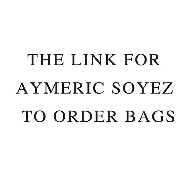 A ligação da ordem sacos