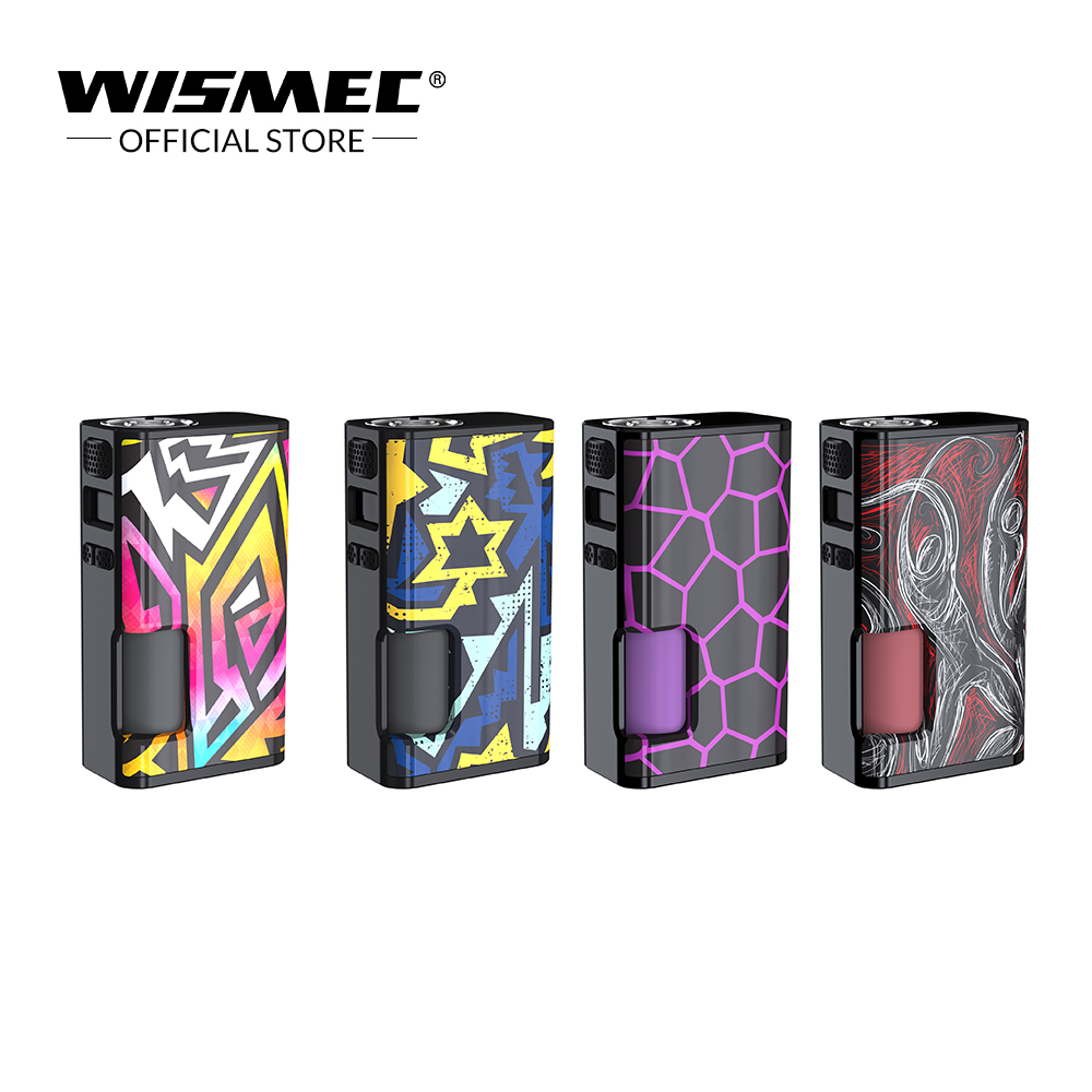 Wismec Luxotic Surface 80W Luxotic Surface Box MOD With 6.5ml squonk bottle Fits KESTREL Tank Electronic Cigarette Vape box mod