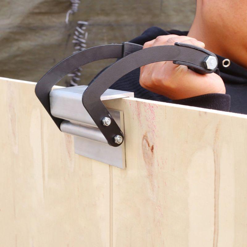 Gastos de envío gratis Panel de madera contrachapado portador práctico pinza de madera mango elevador herramienta especial para el hogar herramientas