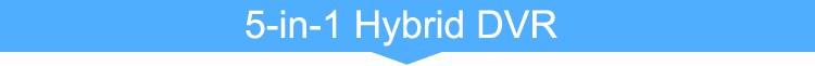 5-in-1 ahd hybrid dvr