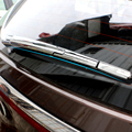 Car Styling ABS Chrome Rear Wiper Decoration Frame Trim For KIA Sportage 2016 2017 KX5 Auto Accessories