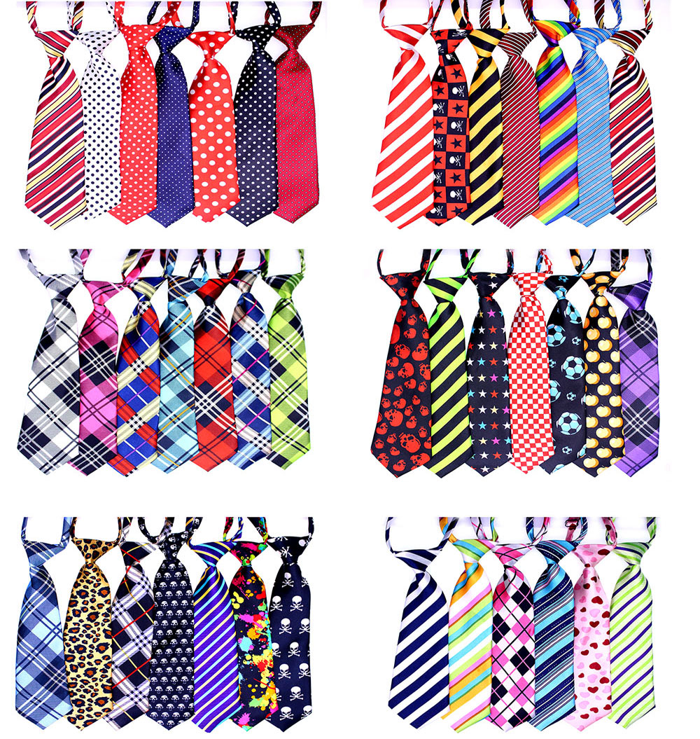 New 30/50pcs Large Dog Neckties Big Dog Adjustable Grooming Ties Pet  Dog Neck Collar Accessories Pet Supplies for large dogs