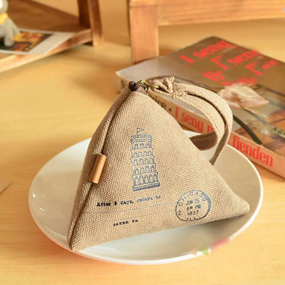 Aelglacial luxe femmes toile petit porte-monnaie filles portefeuille enfants enfants pochette de monnaie de luxe femme changement sac à main pochette porte-cartes