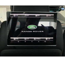 2019 New 11.8inch Headrest Entertainment Android 7.1 System Back Rear Seat DVD Player For Land Rover Auto TV Pillow Monitor 2PCS