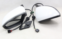 PAIR Auto Folding Mirror Electric Folding Side Mirrors With Light FOR Volkswagen VW Golf 7 Mk7