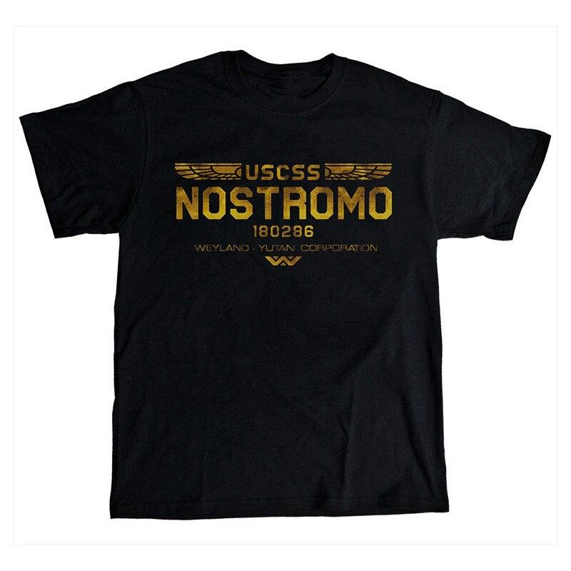 USCSS Nostromo 180286 T-Shirt Mens Prome