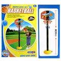 Conjunto Bolas De Brinquedo Bola de Jogo de Basquetebol crianças Cesta De Basquete Mini Hoop Brinquedos Ao Ar Livre Jogos Engraçados Do Bebê Bola Esporte