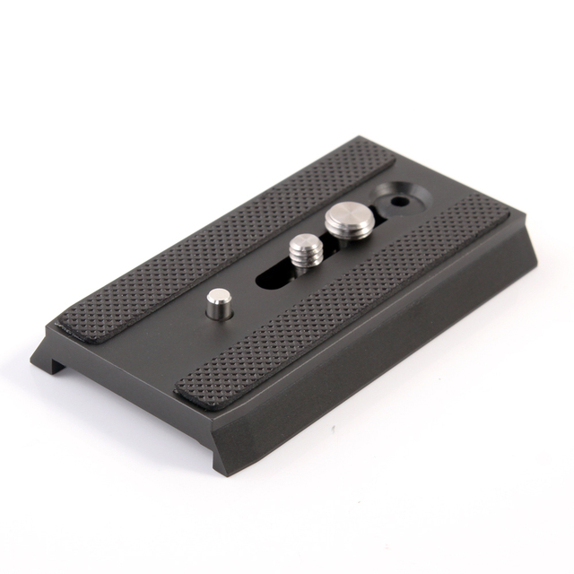 501PL Sliding Quick Release Plate For Manfrotto 501HDV 503HDV 701HDV MH055M0 Q5